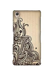 Gobzu Printed Hard Case Back Cover for Sony Xperia Z3 - Design_13