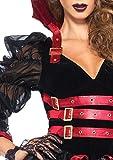 Leg Avenue 85399 – Victorian Vamp Damen kostüm, Größe Medium (EUR 38), Damen Karneval Kostüm Fasching - 4
