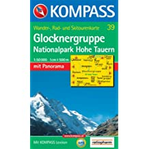 Glocknergruppe, Nationalpark Hohe Tauern: Wander-, Rad- und Skitourenkarte. Mit Panorama. GPS-genau. 1:50.000