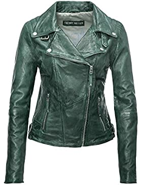 Freaky Nation Damen Jacke Echtleder New Love