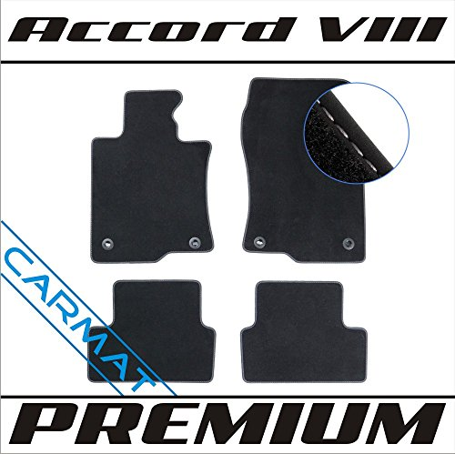 CARMAT Fussmatten Premium HO/ACCY08/P/B (Honda Accord 2015 Leder)
