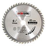 Saxton TCT Circular Holz Sägeblatt 160mm x 20mm x 60Z für Festool TS55, Bosch, Makita usw.