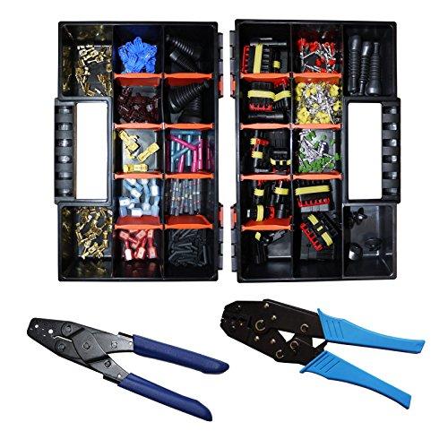 Superseal Starter Multi Reparatur Set Stecker 1-6-polig Crimpzangen KFZ LKW