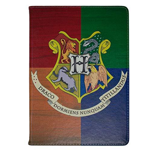 Apple iPad Mini 4 Folio Harry Potter Häuser Hülle / Schützendes PU Leder Smart Flip Hülle / iCHOOSE / Hogwarts - Case Mini Harry Ipad Potter