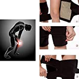 #7: Flyngo Set of 2 Knee Hot Belt for Leg Pain Self Heating Magnetic Knee Strap Knee Cap/Support for Pain Relief Knee Protection Magnetic Therapy Heating Belt