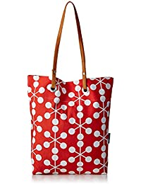 Kanvas Katha Women's Tote Bag (Red)