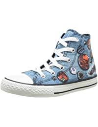 Converse Unisex-Child Chuck Taylor All Star Print Hi-Top Trainers b6c192c79