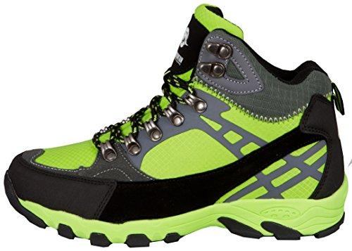 GUGGEN Mountain Damen Frauen Wanderschuhe Outdoorschuhe Walkingschuhe M011 Grün