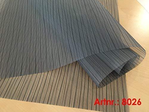 plisseeonline 8026 Panneau Coulissant avec revêtement en Aluminium 50 x 250 cm