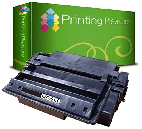 Q7551X / 51X Premium Toner Schwarz kompatibel für HP Laserjet P3005, P3005D, P3005DN, P3005DTN, P3005N, P3005X, M3035 MFP, M3035X MFP, M3035XS MFP, M3027 MFP, M3027X MFP, M3027XS - Hp Toner P3005n Laserjet