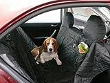 Bild: hochwertige Hundedecke Autoschutzdecke Auto Schutzdecke Hunde 140x180cm schwarz