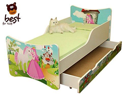 Prinzessin Bett ausziehbar mit Bettschublade