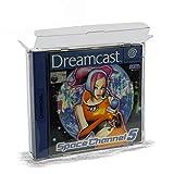 10 Klarsicht Schutzhüllen NINTENDO DREAMCAST [10 x 0,3MM DREAMCAST] Spiele Originalverpackung Passgenau Glasklar -