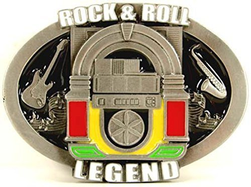 Rock and Roll Legend Buckle with Rockola