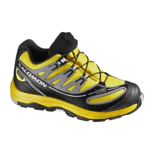 Salomon XA Pro 2 WP K, Scarpe da corsa uomo (CANARY YELLOW/BLACK/PEWTER)