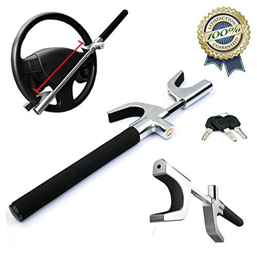 Tinderala-Steering-Wheel-Lock-2018-laptop-universale-Heavy-Duty-antifurto-dispositivo-di-blocco-serrature-auto-Steering-Wheel-Lock-self-Defense-morsetto-lunghezza-regolabile-con-3-chiavi-nero