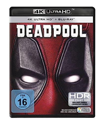 Deadpool - Ultra HD Blu-ray [4k + Blu-ray Disc]
