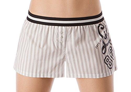 Skiny - Celebration Loungewear Women / Da. Shorts, Pantaloni da pigiama Donna Angelwing stripe