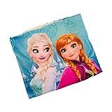 4663 Kinder Schlupfschal Schal Kinderschal - DISNEY DIE EISKÖNIGIN Elsa u Anna Frozen (türkis)