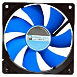 Prolimatech Blue Vortex 12 Computer case Fan - Computer Cooling Components (Computer case, Fan, 12 cm, 1200 RPM, 1600 RPM, 29.1 dB)