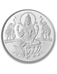 Ashok Jewellers Pure Silver Coin for Gift & Pooja | Silver Coin of Laxmi | 999 Purity | 5g | 10g | 20g | 50g | 100g