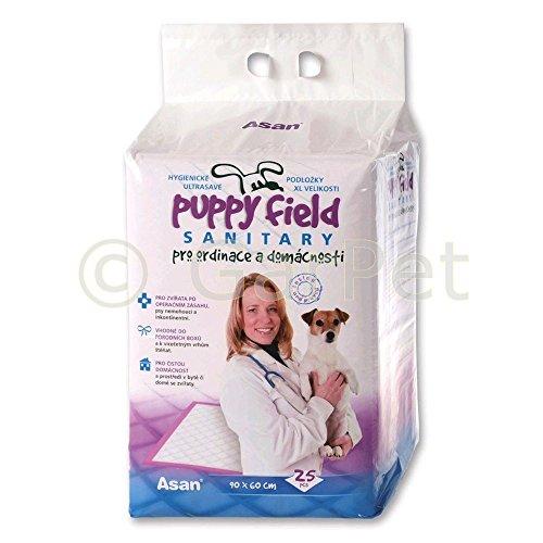 Hunde Unterlage Pads Puppy Field Sanitary Sanitär Veterinär 90 x 60 cm Tierartz