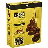 Creed + The Fighter + La Rage au Ventre + Match Retour - Films de Boxe - Coffret Blu-Ray