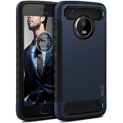 BEZ Funda Moto G5 Plus, Carcasa Antigolpes Protectora para Motorola Moto G5...