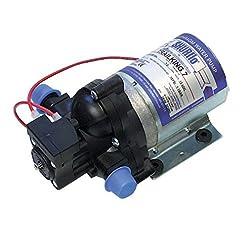 Shurflo Pompa Acqua Camper 7 Litri 12V 20 PSI Senza RACCORDI 2095-204-112