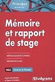Mémoire et rapport de stage : Méthodologie approfondie