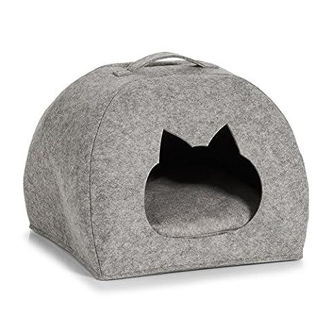 Zeller 14376chat de Panier en feutre pour chat Panier, feutre,