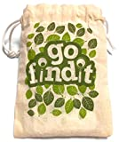 gofindit - outdoor nature treasure hunt card game for families - Sensory Trust - amazon.co.uk