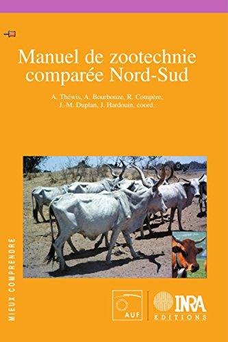 Livres Manuel de zootechnie comparée Nord-Sud epub, pdf