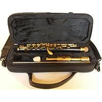 SYMPHONIE WESTERWALD Piccoloflöte/Piccolo Flöte, echt vergoldet, Tragetasche und Zubehör, Neu