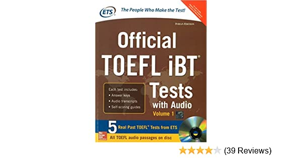 Buy Official TOEFL IBT Tests with Audio (Old Edition) Book Online at