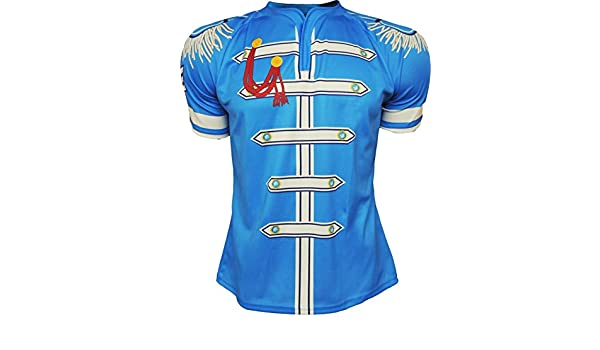 c85f02c0878 Olorun Sgt.Pepper Supporters Rugby Shirt M - 3XL: Amazon.co.uk: Sports &  Outdoors