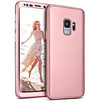 Galaxy S9 Hülle,Galaxy S9 Schutzhülle,KunyFond 360 Grad Silikon Schutzhülle [Front + Back Rundum Double Protective... preisvergleich bei billige-tabletten.eu