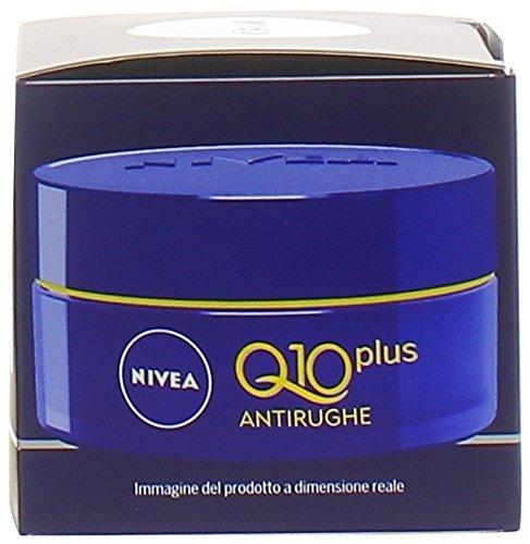6x NIVEA VISAGE Q10Anti-Falten-Gesichtscreme Nacht 50ml