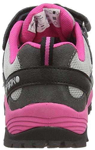 Icepeak WASI Unisex-Kinder Sneakers Pink (HOT PINK 637)