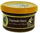 Les Délices du Luberon - Tapenade noire (schwarze Olivenpaste) 90 g