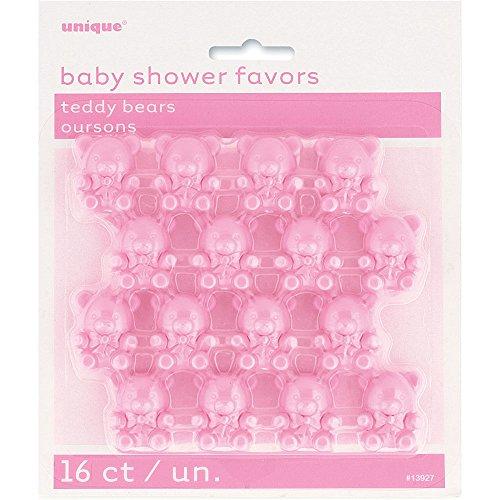 y Bär Baby Dusche für, 16Stück (Teddy Bear Baby-dusche Dekorationen)