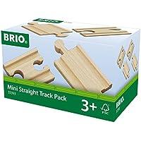 BRIO World Railway Track - Mini Straight Pack