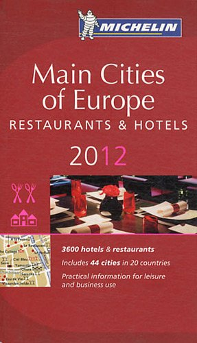 Guide MICHELIN Main Cities of Europe 2012