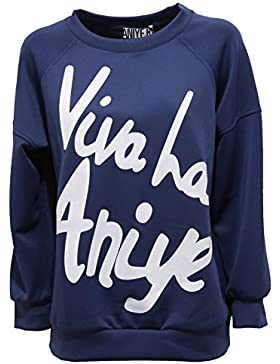 0274R felpa donna ANIYE VIVA L'ANIYE with effect vintage sweatshirt woman
