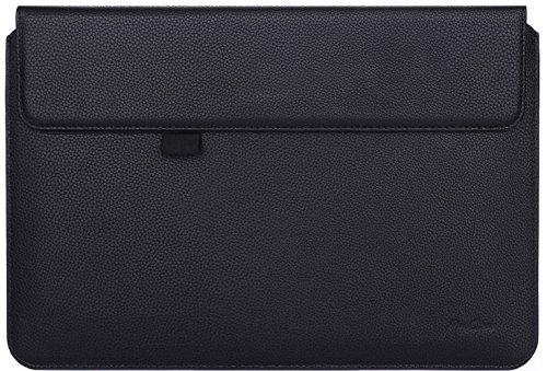 ProCase Surface Pro Schutzhülle/Surface Pro 4 3 Sleeve Hülle, 12 Zoll Sleeve Bag Laptop Tablet Schutzhülle für Microsoft Surface Pro 2017 / Pro 4 3, kompatibel mit Type Cover Tastatur, Schwarz