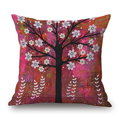madaye-paisaje-pintura-almohada-flores-rboles-cojn-almohada