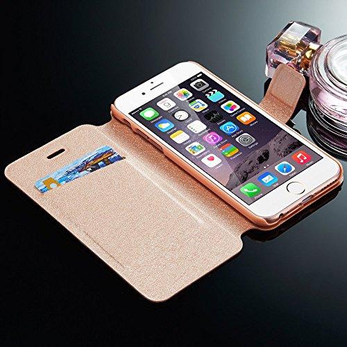 Sycode Custodia per Galaxy S6,Brillantini Flip Cover per Galaxy S6,3D DIY Fatto a Mano Brillante Bling Scintillare Diamante Strass Perla Seta Modello ...
