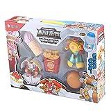 Heaviesk Puzzle Giocattoli Trasformatori di trasformazione in plastica Modello di Bambini Robot Alimentare Chips Hamburger Ice Cream Puzzle Toys