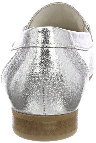 Gabor Damen Comfort Sport Pumps Mehrfarbig (Silber)