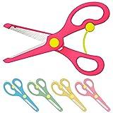 Bastelschere Kinder-Schere mit Sicherung | Rosa